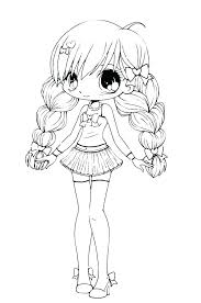 Anime Girl Coloring Pages Online Coloring Pages Online Cartoon Food