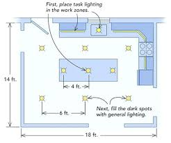 kitchen recessed lighting placement galley kitchen recessed lighting placement