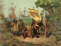 christopher columbus villian or hero writework christoper columbus arrives in america