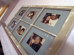 8 Pane Window Frame How To Create A Window Frame Photo Collage Hgtv