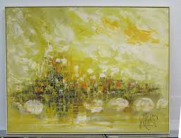 large scale cityscape by lee reynolds at 1stdibs