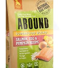 Abound Size Chart Amazon Com Abound Salmon Egg Pumpkin Adult Dog Food 4 Lb