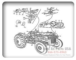 wiring diagram for 1948 8n ford tractor the wiring diagram ford 8n 11h01 parts diagrams ford8npartsusa ford 8n wiring diagram