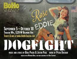 Making The Dogfight Poster Boho Theatre