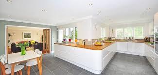 mid century modern kitchen white. White And Wood Kitchen In A Midcentury Modern Style. Mid Century E