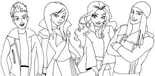 Descendants Coloring Pages New Exelent Mal Coloring Pages Pattern