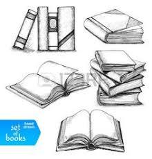 afbeeldingsresultaat voor stapel boeken tekenen
