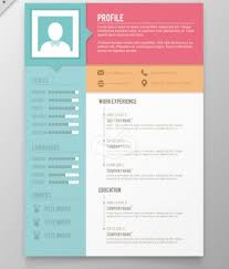 Creative Free Resume Templates Enchanting Free Download Resume Design Templates Creative Free Resume Templates