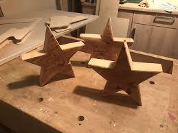 Selbstgebastelte Weihnachtssterne Aus Holz Christmas Decor