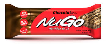 every nugo family bar is made with real non gmo ings loaded with vitamins certified gluten free and certified low glycemic to help keep your