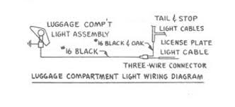 automotive car wiring diagram page 118 luggage compartment light wiring for 1954 studebaker champion and commander