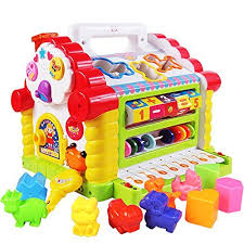 Buy Goappugo Learning House Baby Birthday Activity Play Centre Gift For 1-3 Year Old Online at Low Prices in India - Amazon.in