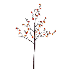 k k interiors fall autumn flowers stems 40370a or orange mini pumpkin