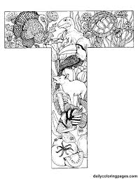 Small Picture 195 best Coloring pages Alphabeth images on Pinterest Drawings