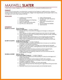 Transportation Resume Examples Transportation Resume Examples Examples Of Resumes 8