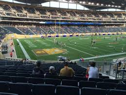 Investors Group Field Section 136 Home Of Winnipeg Blue