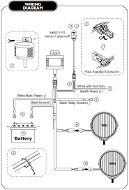 how to install piaa 520 series 6 in round chrome smr halogen lights aim lamps according to light aiming instructions on page 5 tighten all fasteners