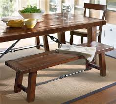 Dining Room Tables With A Bench Cool Decorating