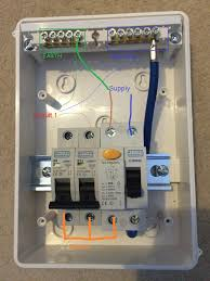 garage consumer unit wiring diagram garage image how to wire up garage rcd overclockers uk forums on garage consumer unit wiring diagram