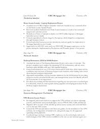 6 technical analyst resume