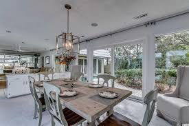 cottage dining rooms. cottage dining room with kosas home elodie table, high ceiling, ilka side chair rooms i