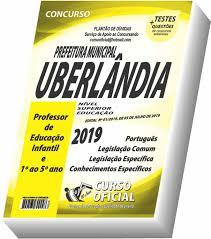 Apostila Prefeitura de Uberlândia - Professor de Educação Infantil e 1º ao 5º  ano - Curso oficial - - - Magazine Luiza