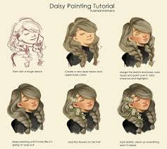 easy digital painting tutorial by kickydarn