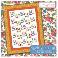 Spring-Along Charm Quilt Â« Moda Bake Shop & MBS-spring-along-charm-quilt-cover Adamdwight.com