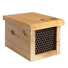 mason bee house with replaceable s