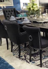 romantic bespoke dining chairs with ring pull back timeless interior designer ring back dining chair