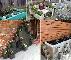 garden blocks. Cinder Blocks Garden
