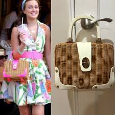 Kate Spade Straw Wicker Basket Bag Gossip Girl Blair Waldorf  #katespadenewyork #Purse | Gossip girl, Gossip girl blair, Gossip girl  fashion