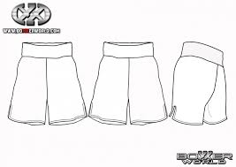 Shorts Design Template Get Templates Boxxerworld