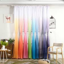 drapes with valance. Gradient Sheer Curtain Tulle Window Treatment Voile Drape Valance 1 Panel Fabric Drapes With X