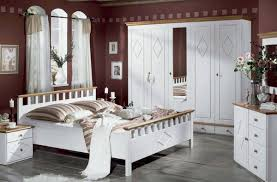 Maroon Paint Color Ideas For Bedroom With White Furniture Decor Interesting Bedroom With White Furniture
