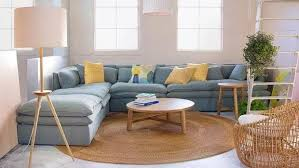 a round rug can pull a room together when you can t afford a larger