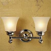 newport brass 21 52fg annabella double bathroom light fixture with flared seeded etch shade brass bathroom lighting fixtures