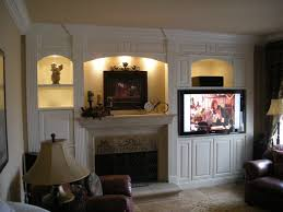 Built In With Fireplace Built In Entertainment Center Around Fireplace