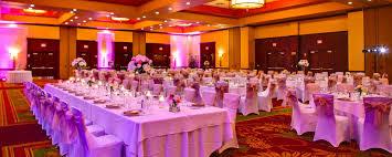 Cottonwood Ballroom  Wedding Setup