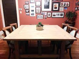 dining room table plans how to build a square farmhouse table free building plans by round
