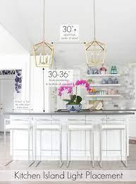 kitchen island lighting ideas and