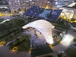 Combining Tradition with Modernity Bamboo Pavilion by CUHK School ...