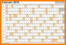 Kalender 2015 Excel 8 Excel Kalender 2015 Tourofcalifornia Santacruz