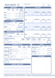 Dyslexic Character Sheets