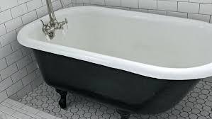 can you paint a bathtub black painting a cast iron bath using the correct cast iron