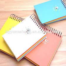 Notebook With Colored Pages Getwallpapersus
