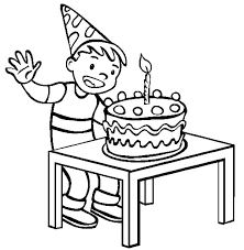 Small Picture Cake Designs For Birthday Boy Coloring Coloring Pages