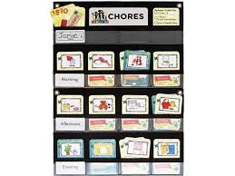 Neatlings Chore Chart Neatlings Chore System Chore Chart For Kids 80 Chores For Toddlers To Teens Customize For 1 Child Size 18 X12 5 Teal Household Chore