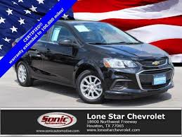 Mosaic Black Metallic 2018 Chevrolet Sonic: Certified Car for Sale ...