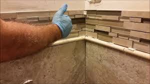 how to install glass mosaic tile in bathroom shower part 4 mosaic installation you